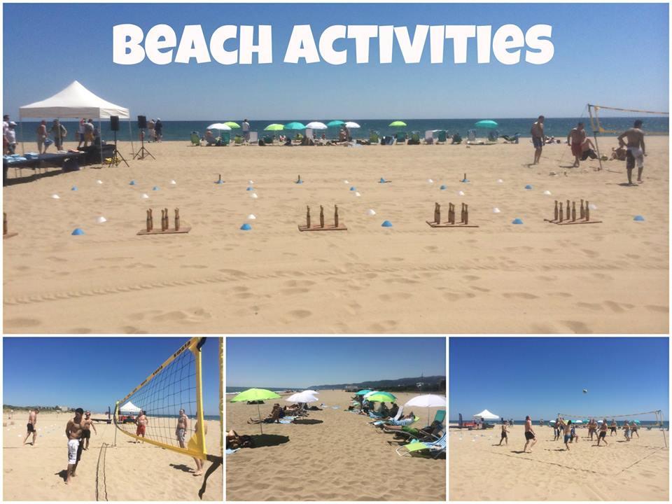 TEAM BUILDING: BEACH ACTIVITIES IN BARCELONA COASTLINE