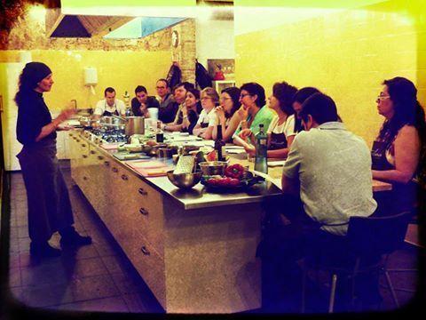 Barcelona cooking team activity