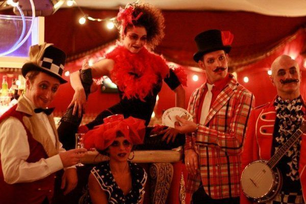 Circus party entertainment event