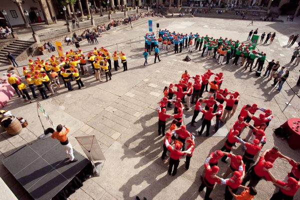 HFC Castellers Teambuilding Human Towers Activity Barcelona (11)