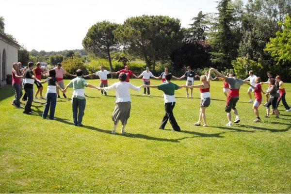 Catalan Traditions Sardana team building
