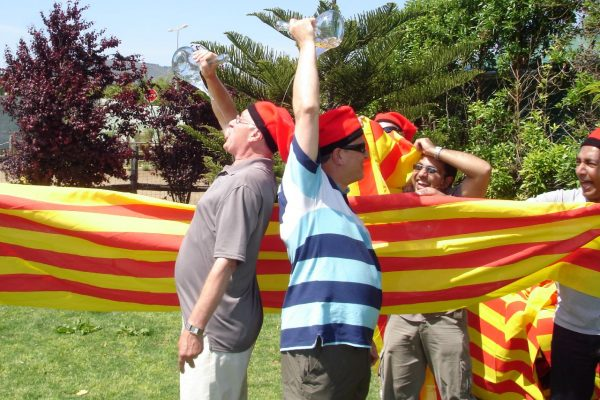 HFC Castellers Teambuilding Human Towers Activity Barcelona (5)