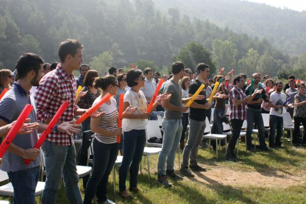 boomwhackers team building activity