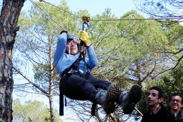 HFC team building nature Zipline Workshop Adventure