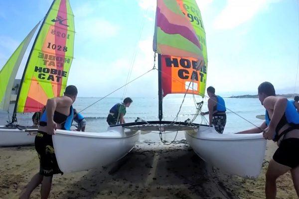 beach activities team building