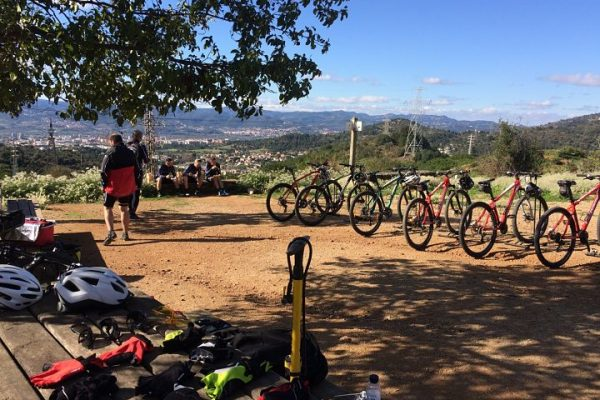 HFC Team building incentives mountain biking group
