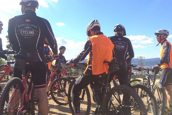HFC Team building Barcelona mountain biking routes