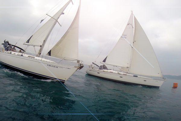 teamwork regata sailing barcelona