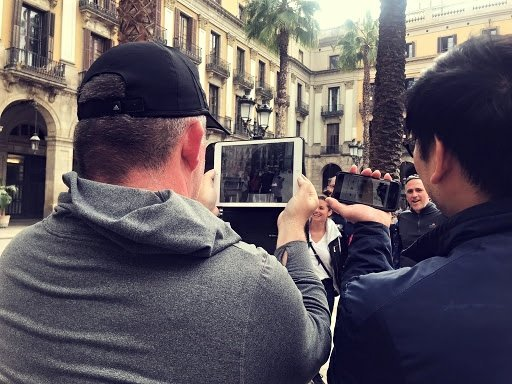 iPad rally barcelona