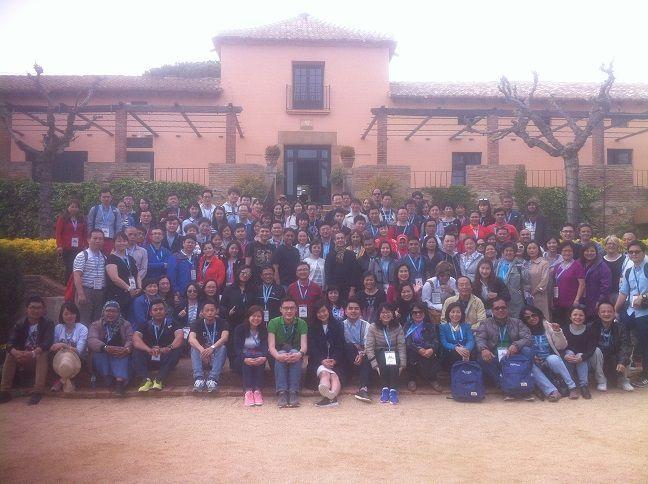 Team building event masia barcelona