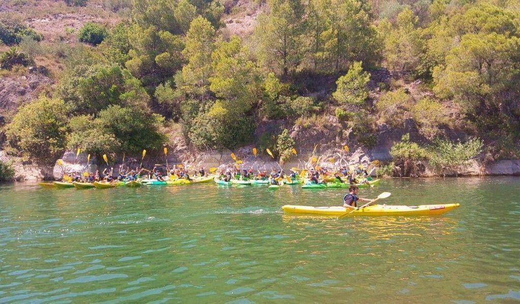 Sea kayaks excursion Summer meeting