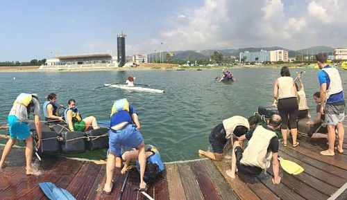 olympic CANAL CASTELLDEFELS TEAM BUILDING SPORT