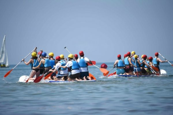Beach activities_team building