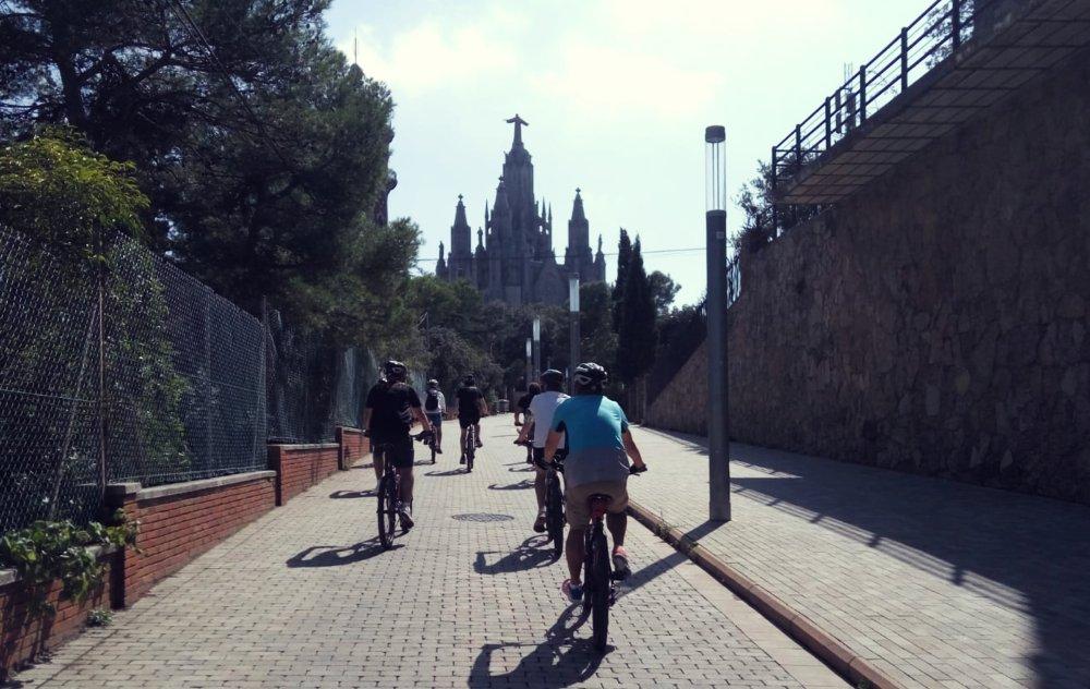 Teambuilding Barcelona Mountain biking