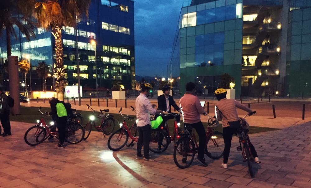 CITY EXPRESS BY BIKE? DISCOVER BARCELON THROUGH FUN CHALLENGES