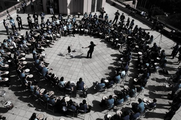 drum circle outdoor team building activity