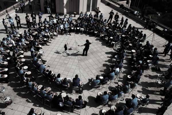 drum circle outdoor team building activity