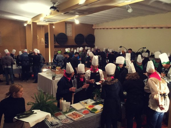 Expérience de team building combo: cook & tech!
