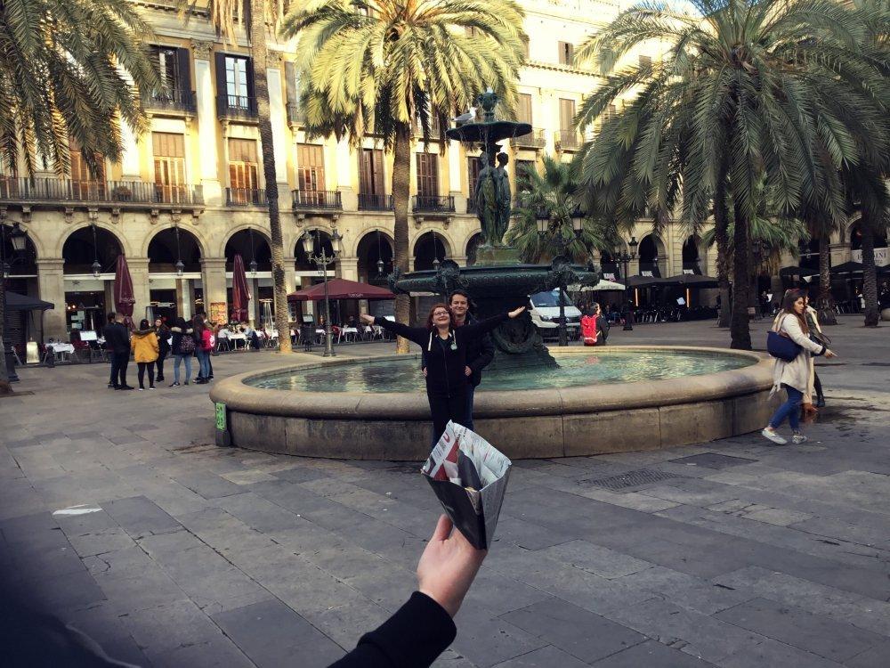 TREASURE HUNT IN BARCELONA: IPAD RACE BY HFC