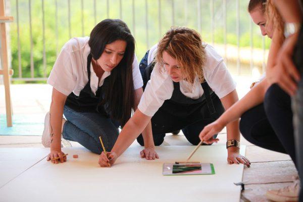 art activity team building barcelona
