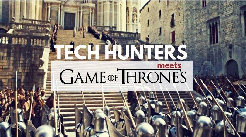 Girona iPad rally juego de tronos