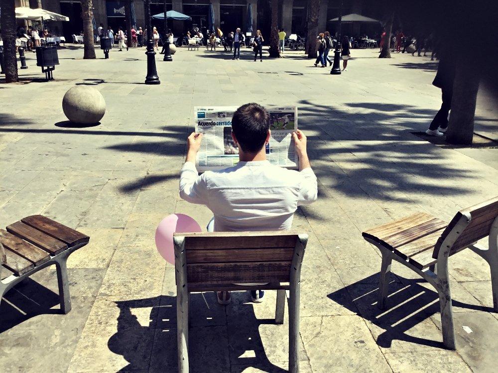Gymkhana Barcelona plaza reial