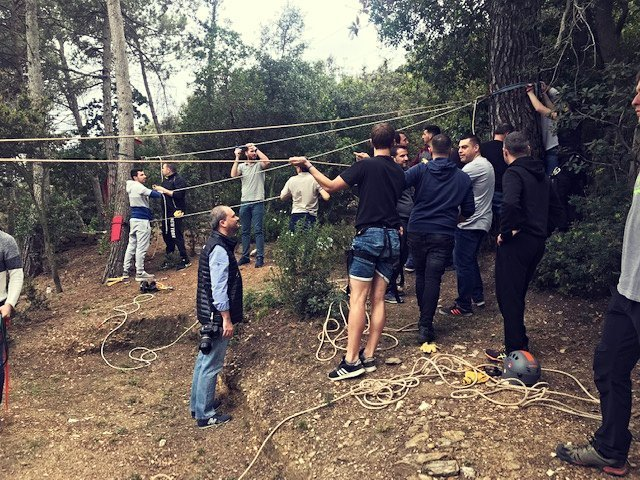 A ROPE WORK WITH SOCIAL ENGAGEMENT