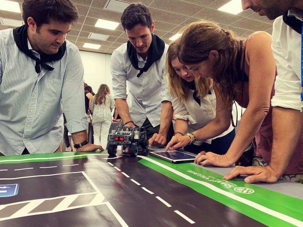Smart city team building