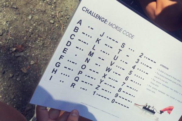 Orienteering team building challenge