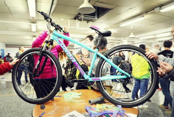 Bike social team buolding