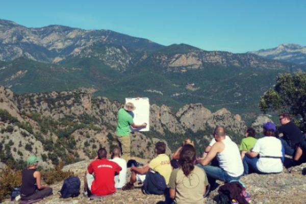 outdoor meeting pyrenees
