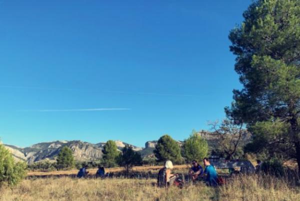 outdoor meeting in Terres de l'ebre