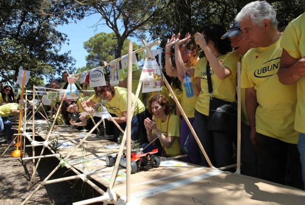 team building construction activity