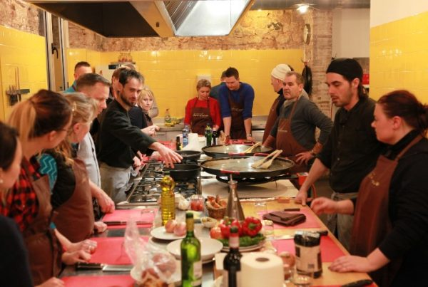 cooking competition barcelona