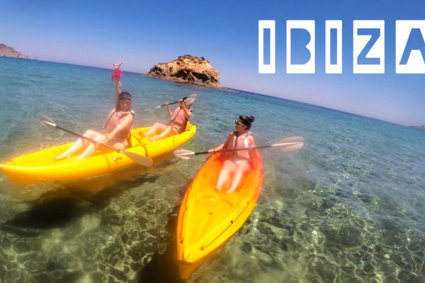 Sea Kayak team building Ibiza