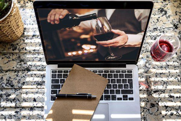 Teambuilding Online wine tasting