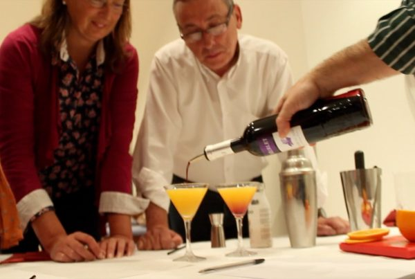 cocktail team building activity