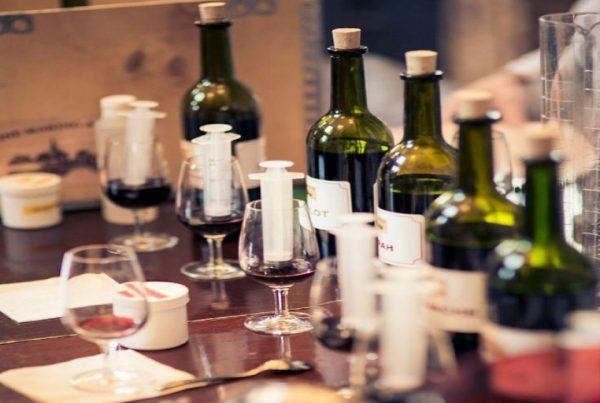 wine academy team building activity