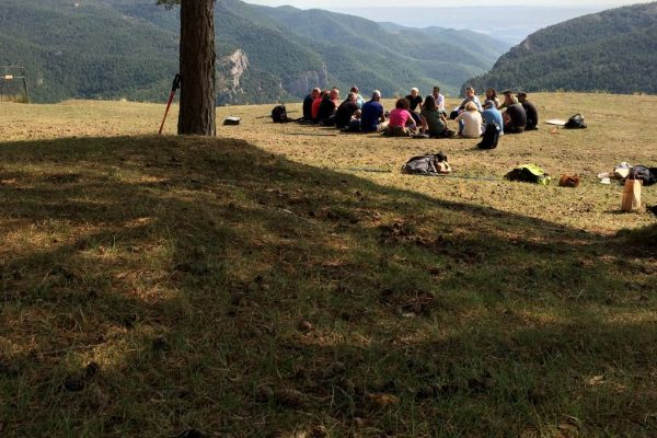 Barcelona itinerant outdoor meetings nature