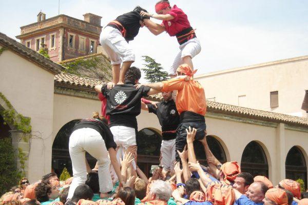 Castellers team building barcelona
