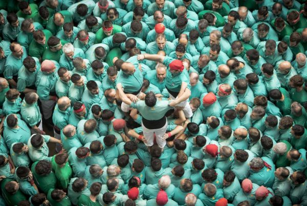 Event entertainment show demo human towers