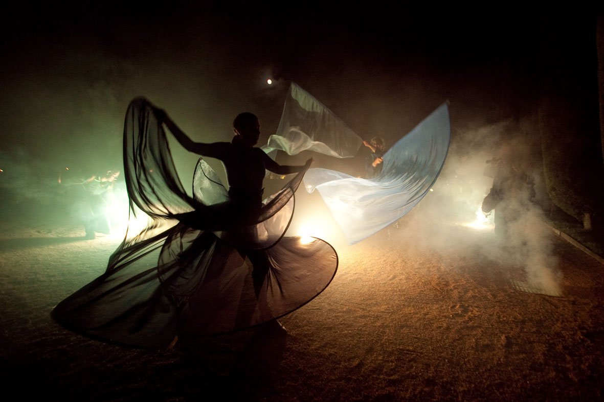 Correfocs, traditional dance entertainment event barcelona