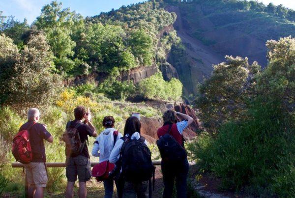 Hiking routes Garrotxa