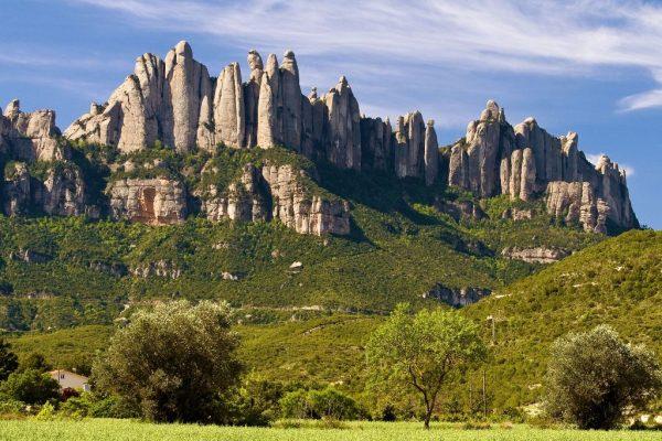 outdoor meeting Montserrat hiking into nature