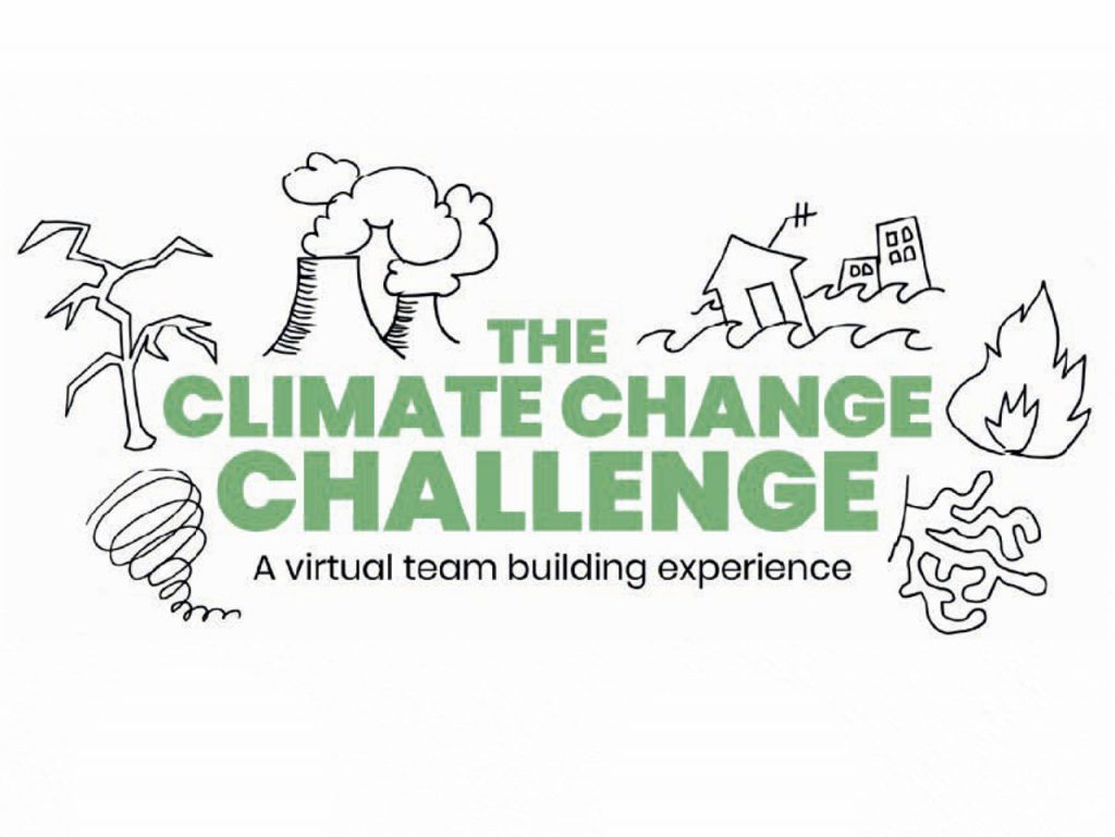 Virtual challenge team building climate change