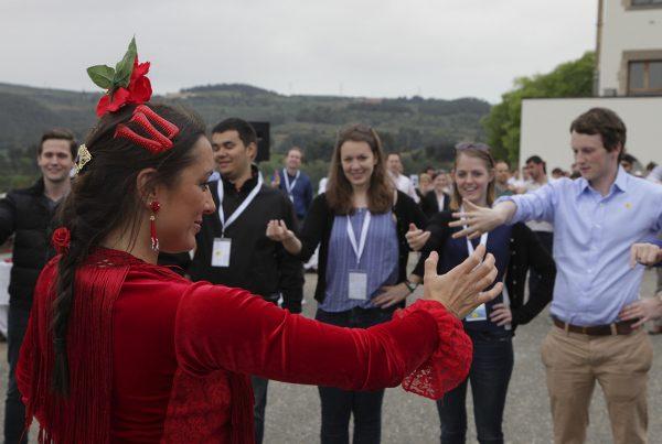 Flamenco team building