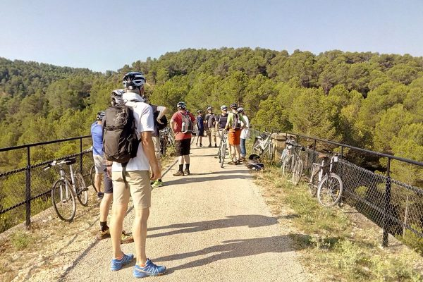 outdoor events catalonia biking in the green way