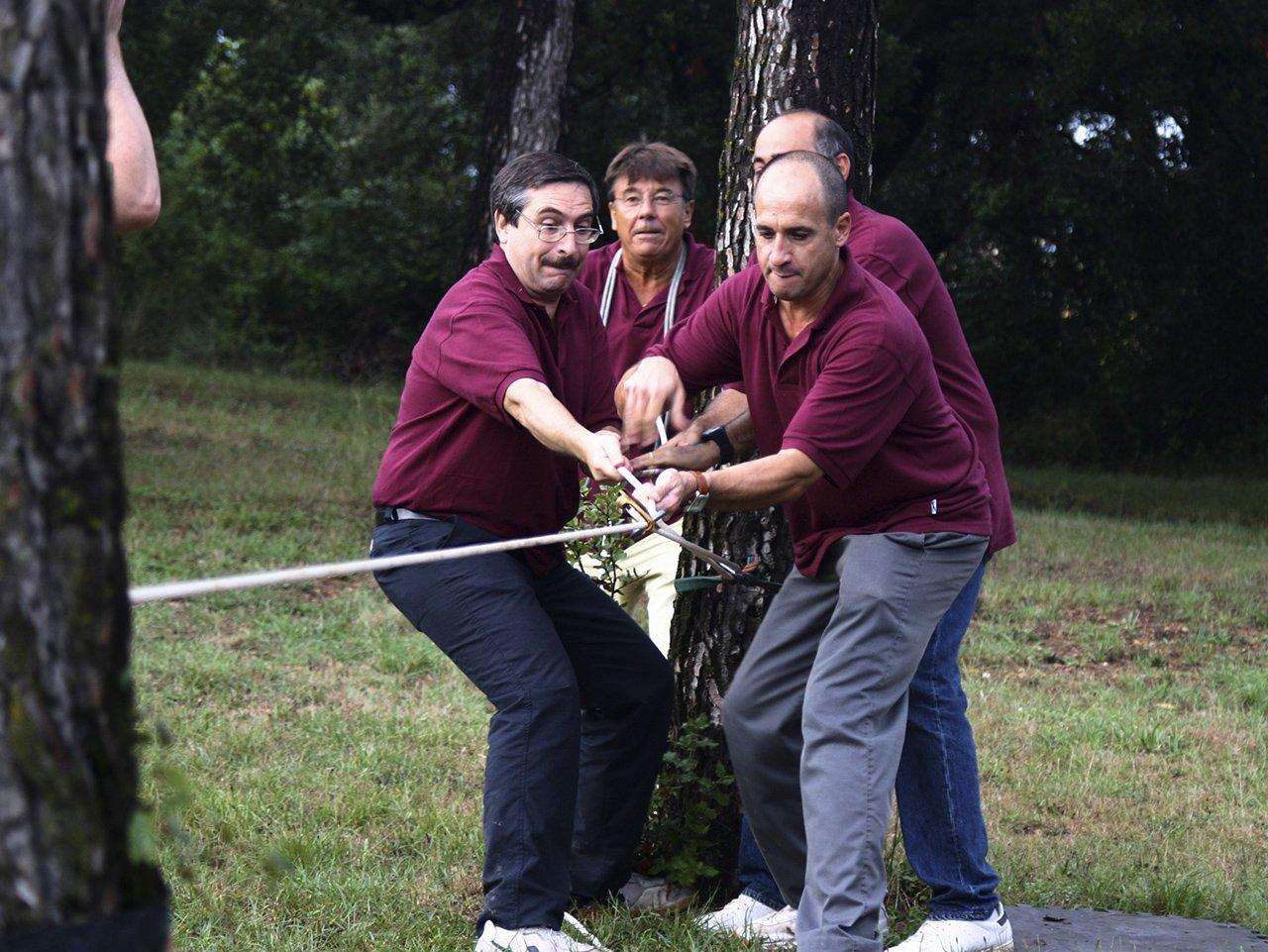 rope work team building