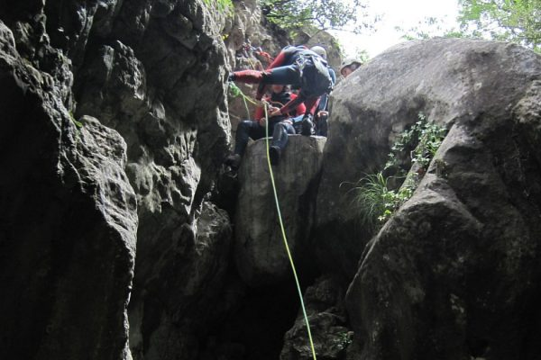Canyoning Via Ferrata Outdoor conference event Pyrenees (2)