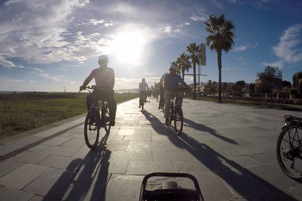 EBIKES SUNSET TOUR BARCELONA